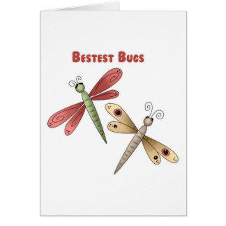 Bestest fastidia (las libélulas) felicitacion