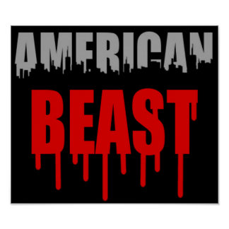 Bestia americana impresiones