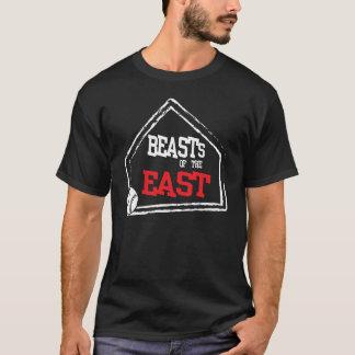 Bestia de la camiseta del este del béisbol