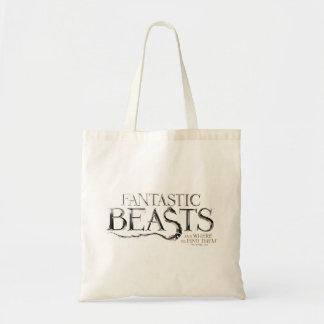 Bestias fantásticas y donde encontrarlos logotipo bolso de tela