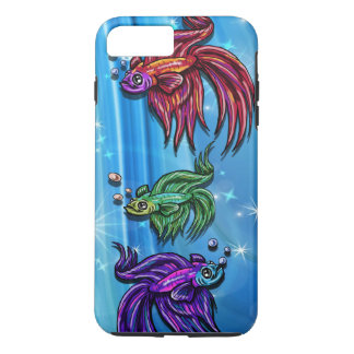 Bettas hermoso funda iPhone 7 plus