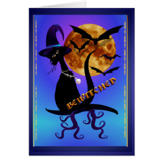 Bewitched Tarjeta De Felicitación