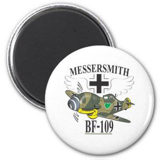bf-109 imán redondo 5 cm
