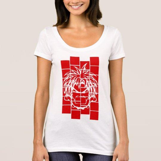 BFCC: Camiseta del rojo del Lit del cubo