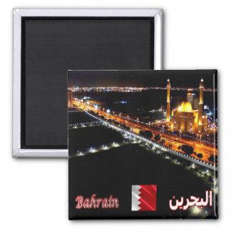 BH - Bahrein - mezquita magnífica por noche Imán