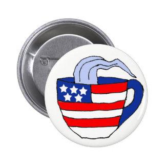 BH botón político de la fiesta del té Pins