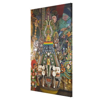 Bhután. Las tortas ceremoniales hechas por los Impresión En Lona Estirada