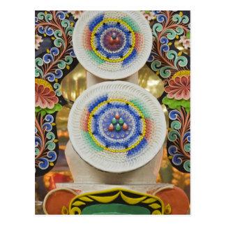 Bhután. Las tortas ceremoniales hechas por los Postal