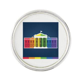 BI lesbiano gay LGBTQ+ Pin del orgullo de la Casa