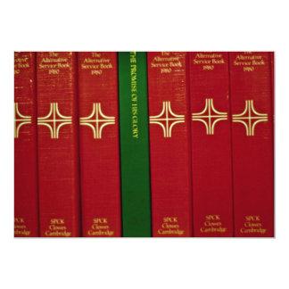 Biblias y libro de oración invitación 12,7 x 17,8 cm