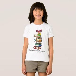 Bibliófilo y orgulloso divertidos camiseta