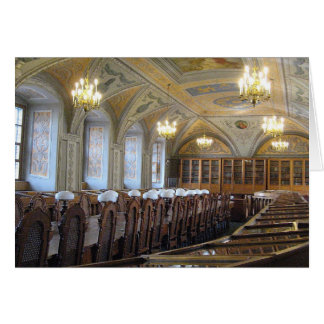 Biblioteca de universidad de Vilna - LITUANIA Tarjeta De Felicitación