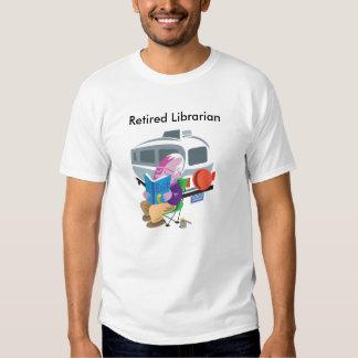 Bibliotecario jubilado camisetas
