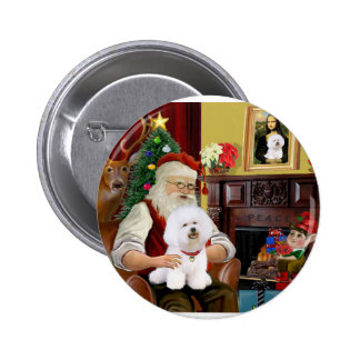 Bichon de Santa Frise (#1) Pin