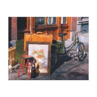 """Bici asiática 14""""/35x25 cm x 11"""" lienzo"""