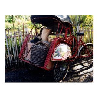 bici asiática postal