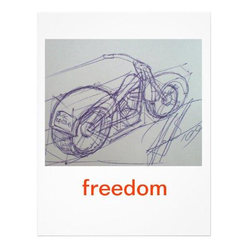Bici de la libertad tarjetas informativas