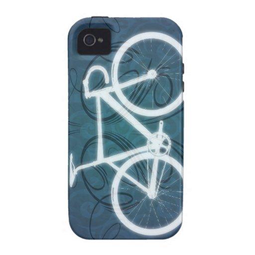 Bici de la pista estilo azul del tatuaje iphone 4 4s - La bici azul ...