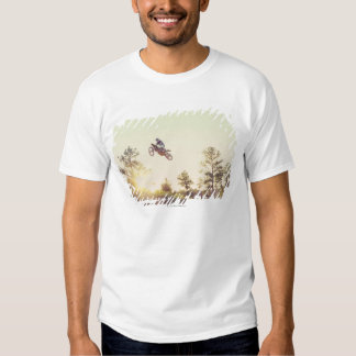 Bici de la suciedad camisetas