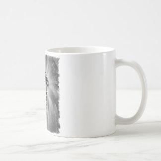 Bici de la suciedad que arruina con negro/blanco taza de café