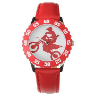 BICI de la SUCIEDAD (roja) Reloj De Mano