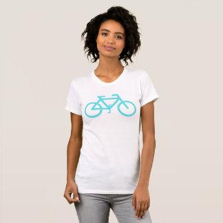 Bici de la turquesa camisetas