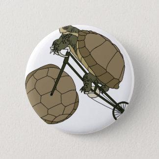 Bici del montar a caballo de la tortuga con las chapa redonda de 5 cm