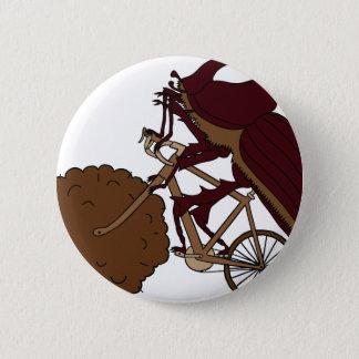 Bici del montar a caballo del escarabajo de chapa redonda de 5 cm