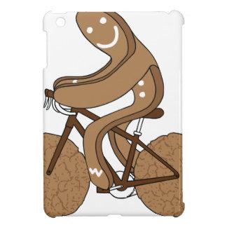 Bici del montar a caballo del hombre de pan de