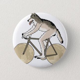 Bici del montar a caballo del hombre lobo con las chapa redonda de 5 cm