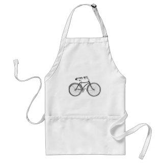 Bici del vintage delantal