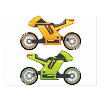 Bici eléctrica de la motocicleta del concepto postal