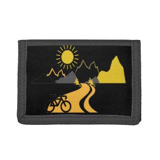 Bici en la cartera del nilón de las montañas