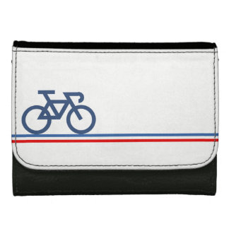 Bici en líneas de bandera Francés-inspiradas