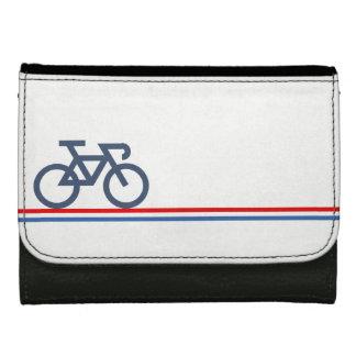 Bici en líneas de bandera Países Bajos-inspiradas