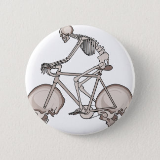 Bici esquelética del montar a caballo con las chapa redonda de 5 cm