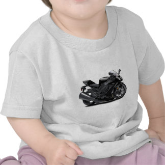 Bici negra de Ninja Camisetas
