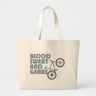 Bici - sangre, sudor y engranajes bolsa tela grande