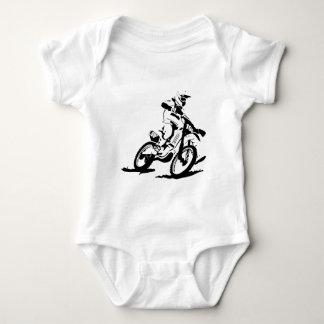 Bici y jinete simples de Motorcross Body Para Bebé