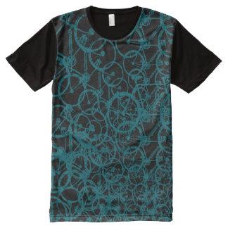 bicicleta. bici/ciclo agradable camiseta con estampado integral