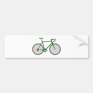 Bicicleta bicycle pegatina para coche