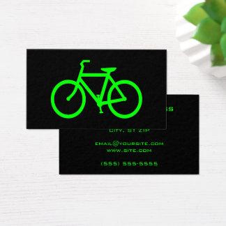 Bicicleta de la cal tarjeta de visita