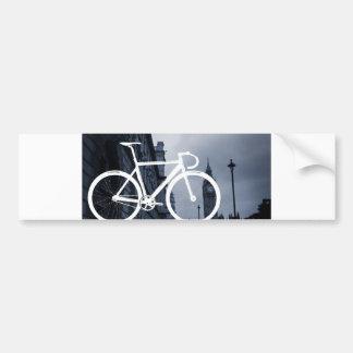 Bicicleta de la pista de Londres Pegatina Para Coche