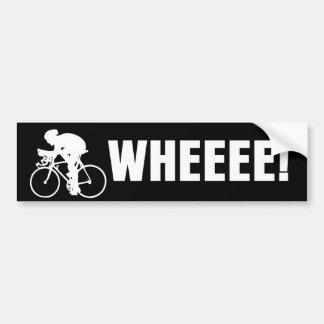 Bicicleta de WHEEE Pegatina Para Coche