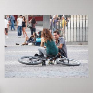Bicicleta del la del en de Sentada Impresiones