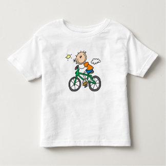 Bicicleta del montar a caballo - varón camiseta de bebé