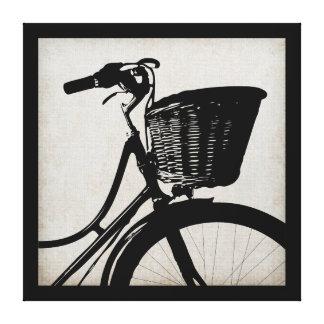 Bicicleta del vintage impresiones de lienzo