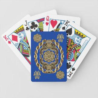 Bicicleta el jugar de tarjetas del carnaval leída baraja cartas de poker