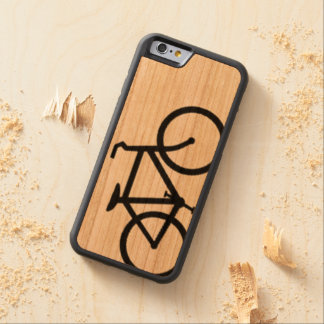 bicicleta funda de iPhone 6 bumper cerezo