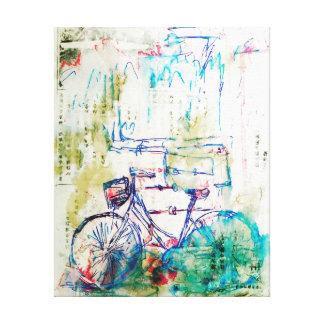 Bicicleta Impresión En Lienzo